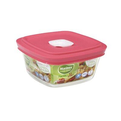 Facilita Hot Square 10 Oz. Food Storage Container