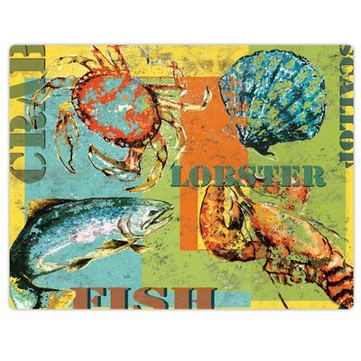 Sea Bounty Flexible Cutting Mat
