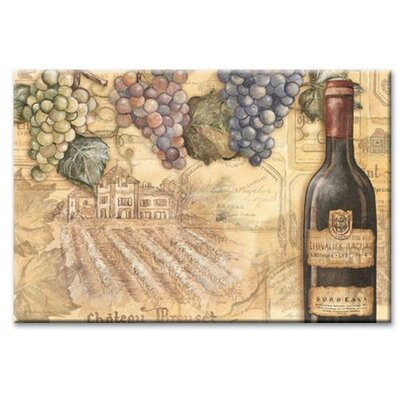 Vineyards Glass Cutting Board