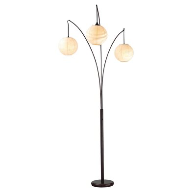 Canyon 82 Quot Arched Floor Lamp Wayfair