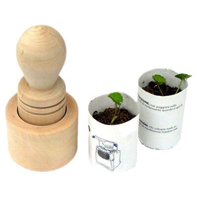 Clementine Creations 2 Piece Round Pot Planter Set