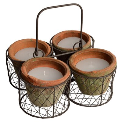 Clementine Creations 5 Piece Votive Set