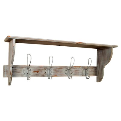 Clementine Creations Stefan Wall Mounted Coat Rack