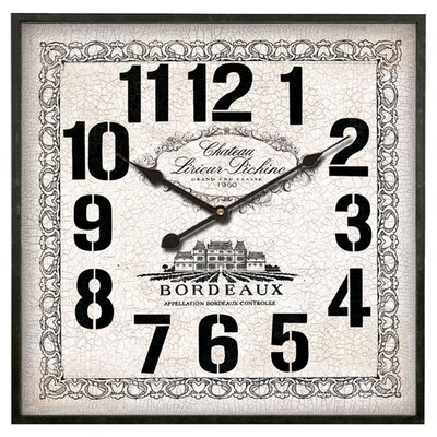 Clementine Creations Chateau Clock