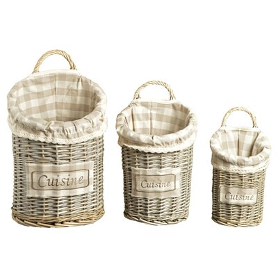 Clementine Creations 3 Piece Cuisine Basket Set