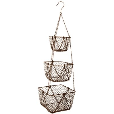 Clementine Creations Midra 3 Tier Hanging Basket