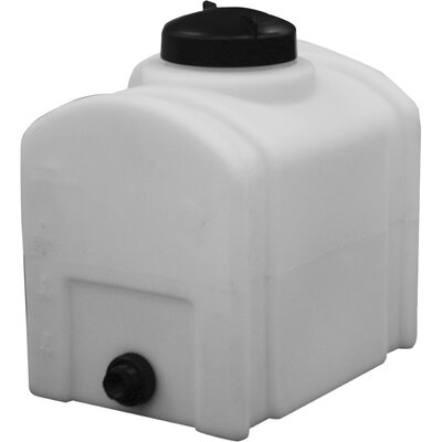 Domed Poly Storage Tank Size: 8 Gallon