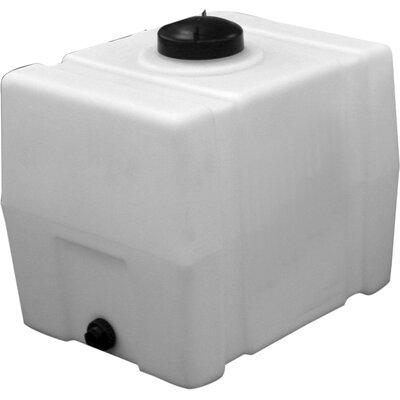Square Poly Storage Tank Size: 30 Gallon
