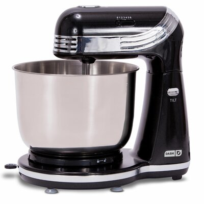 Everyday 6 Speed 3 Qt. Stand Mixer Color: Black
