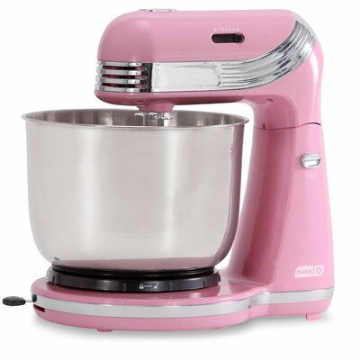 Everyday 6 Speed 3 Qt. Stand Mixer Color: Pink