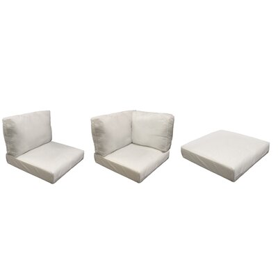 Florence 12 Piece Outdoor Cushion Set Fabric: Coverless