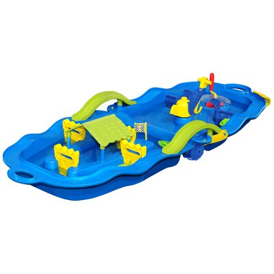 Folding Water Fun Trolley Play Set Sand & Water Table