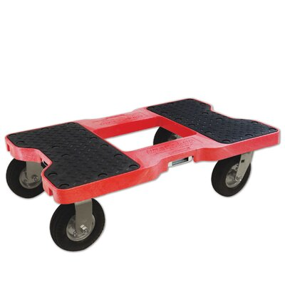 1500 lb. Capacity Furniture Dolly Finish: Red
