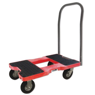 1500 lb. Capacity Platform Dolly Finish: Red