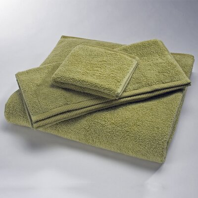 Luxury 100% Cotton Washcloth Size: Wash, Color: Lime