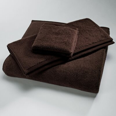 "Luxury 100% Cotton Bath Towel Size: Body Sheet Towel: 34"" x 70"", Color: Chocolate"