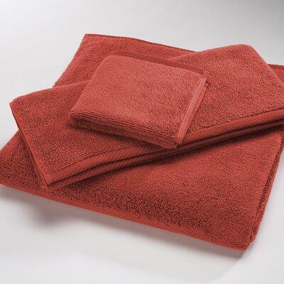 """Luxury 100% Cotton Bath Towel Size: Shower Towel: 30"""" x 60"""", Color: Brick"""
