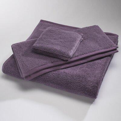 """Luxury 100% Cotton Bath Towel Size: Shower Towel: 30"""" x 60"""", Color: Eggplant"""
