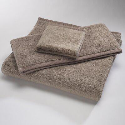 """Luxury 100% Cotton Bath Towel Size: Body Sheet Towel: 34"""" x 70"""", Color: Latte"""