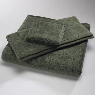 "Luxury 100% Cotton Bath Towel Size: Body Sheet Towel: 34"" x 70"", Color: Moss"
