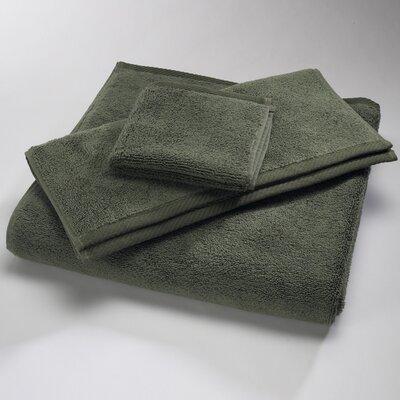 "Luxury 100% Cotton Bath Towel Size: Body Sheet Towel: 34"" x 70"", Color: Moss"