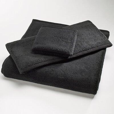 """Luxury 100% Cotton Bath Towel Size: Shower Towel: 30"""" x 60"""", Color: Black"""