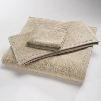 "Luxury 100% Cotton Bath Towel Size: Body Sheet Towel: 34"" x 70"", Color: Oat"