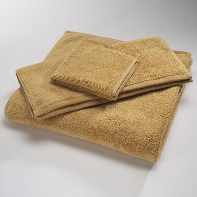 "Luxury 100% Cotton Bath Towel Size: Body Sheet Towel: 34"" x 70"", Color: Wheat"