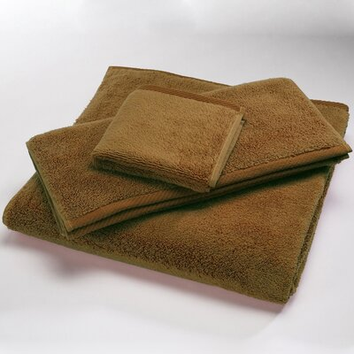 """Luxury 100% Cotton Bath Towel Size: Body Sheet Towel: 34"""" x 70"""", Color: Bronze"""