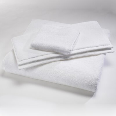 "Luxury 100% Cotton Bath Towel Size: Body Sheet Towel: 34"" x 70"", Color: White"