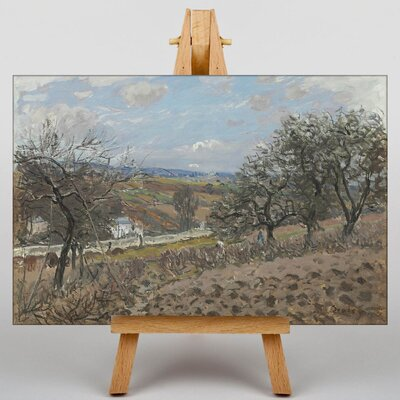 Big Box Art Bougival by Alfred Sisley Art Print on Canvas