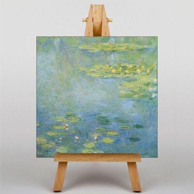 Big Box Art Water Lilies No.5 by Claude Monet Art Print on Canvas