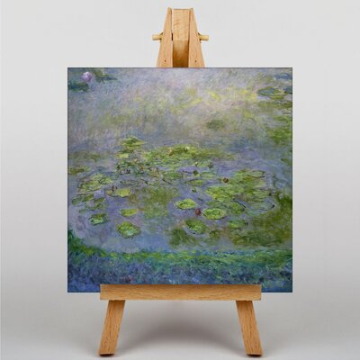 Big Box Art Water LIllies No.1 by Claude Monet Art Print on Canvas