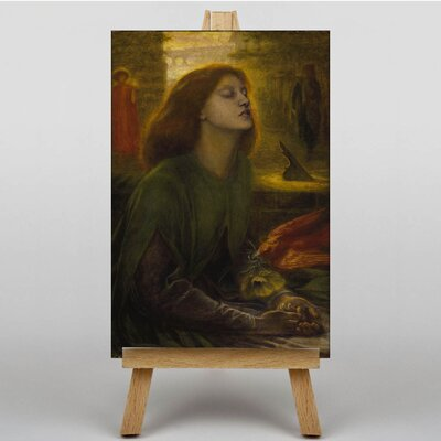 Big Box Art Beata Beatrix by Dante Gabriel Rossetti Art Print on Canvas