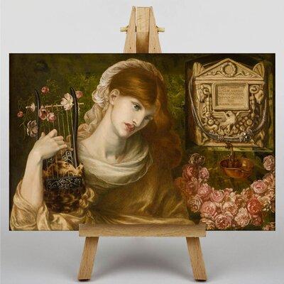 Big Box Art The Roman Widow by Dante Gabriel Rossetti Art Print on Canvas