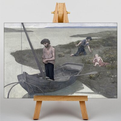 Big Box Art Pierre Puvis de Chanes The Poor Fisherman by Pierre Puvis de Chavannes Art Print on Canvas