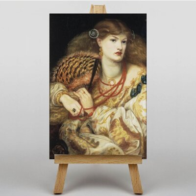 Big Box Art Monna Vanna by Dante Gabriel Rossetti Art Print on Canvas