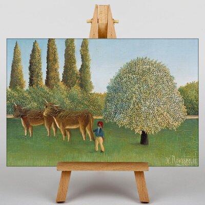 Big Box Art Meadowland by Henri Rousseau Art Print on Canvas