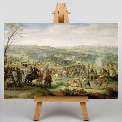 Big Box Art The Elder Flemish Proverbs by Pieter Bruegel Art Print on Canvas