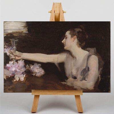 Big Box Art Madame Gautreau Drinking by John Singer Sargent Art Print on Canvas