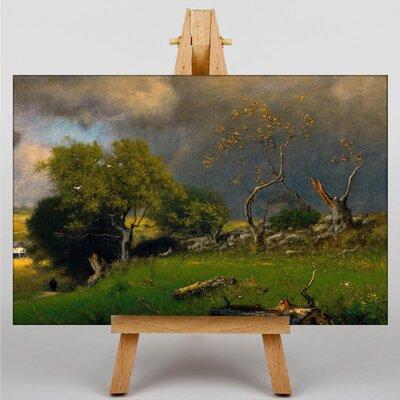 Big Box Art Landscape No.2 by George Innes Art Print on Canvas