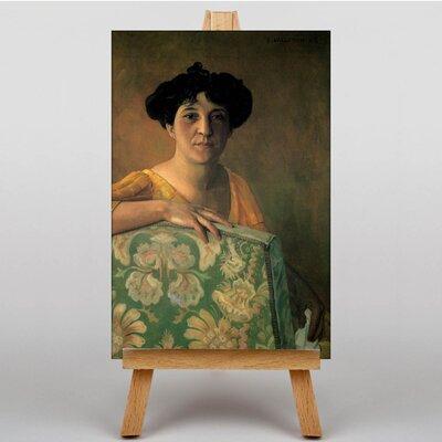Big Box Art Portrait  of Gabrielle by Felix Vallotton Art Print on Canvas