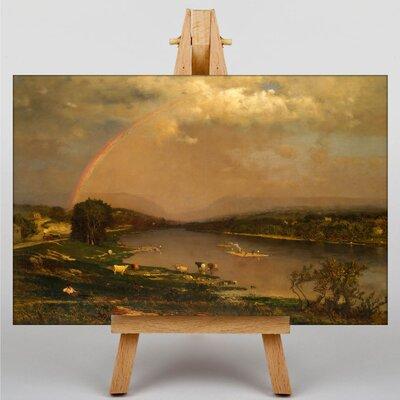 Big Box Art Landscape No.4 by George Innes Art Print on Canvas