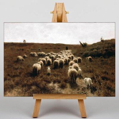 Big Box Art The Return of the Flock by Anton Mauve Art Print on Canvas