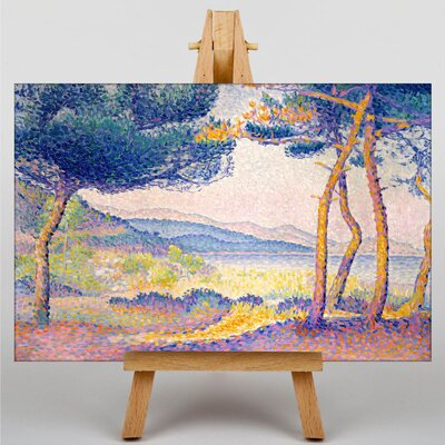 Big Box Art Landscape by Henri-Edmond Cross Art Print on Canvas
