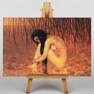 Big Box Art Bathing by Felix Vallotton Art Print on Canvas