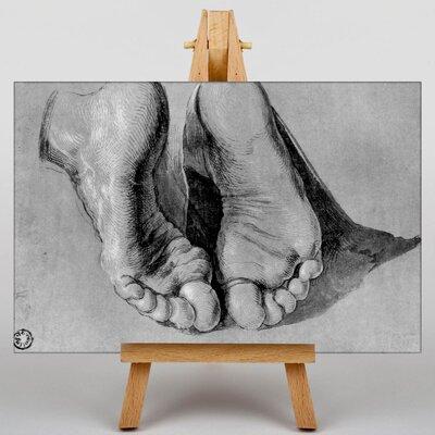 Big Box Art Feet of an Apostle by Albrecht Durer Art Print on Canvas