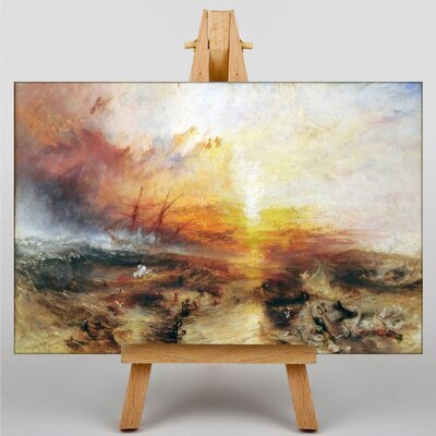 Big Box Art Typhoon Coming by Joseph Mallord William Turner Art Print on Canvas
