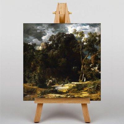 Big Box Art Compagna Romana by Arnold Bocklin Art Print on Canvas