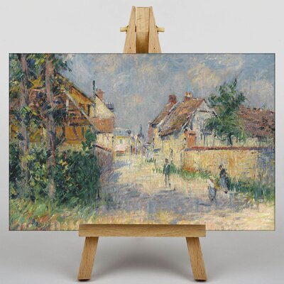 Big Box Art Gustave Loiseau Pathway by Gustave Caillebotte Art Print on Canvas